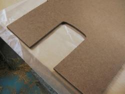 hardboard template material photo