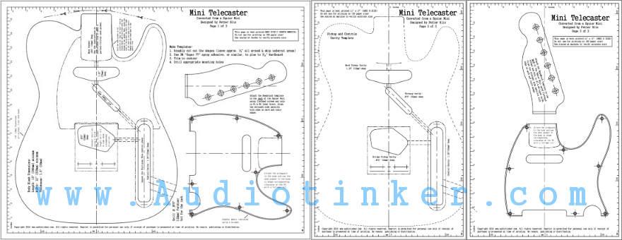 Mini Telecaster Plans
