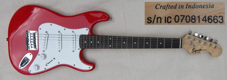 squier mini strat IC070814663