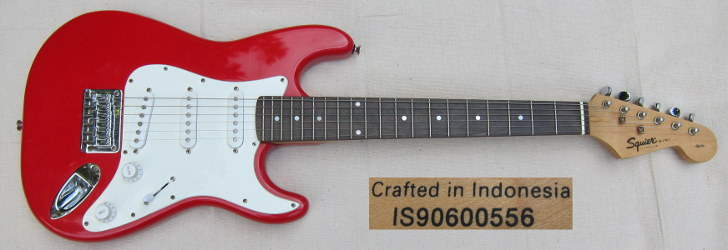 squier mini strat IS90600556