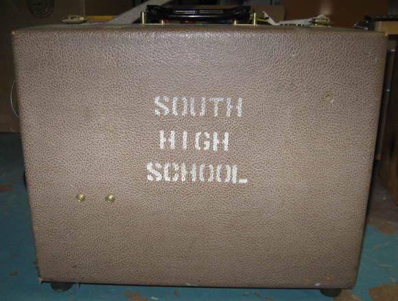 kodak film projector soon to be modified into guitar amplifier