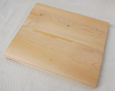 The mini jagmaster two-piece cedar body blank