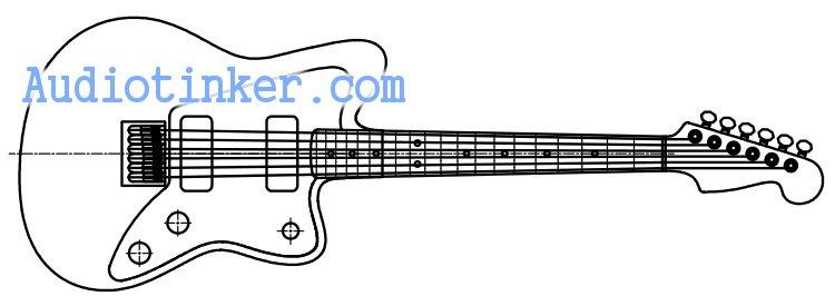 Mini Jagmaster CAD sketch